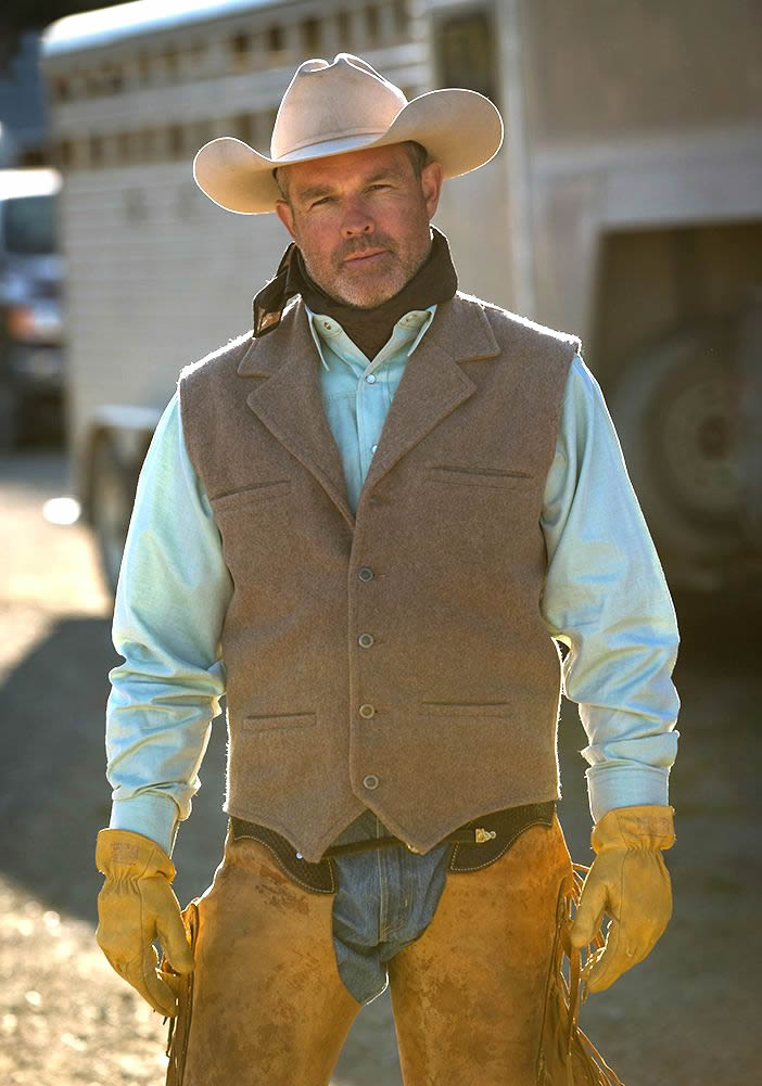 Shearer Taupe Vest