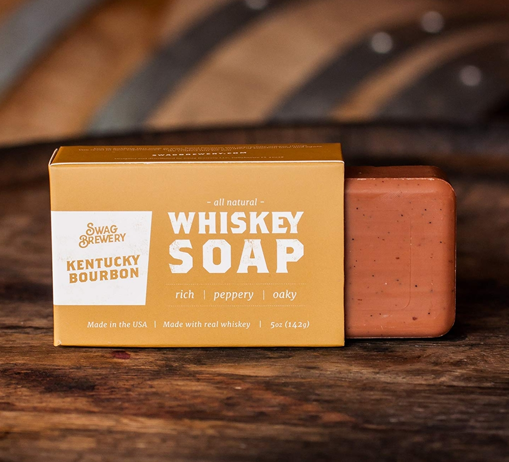 Real Whiskey Soap